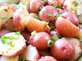 potato salad vinegret