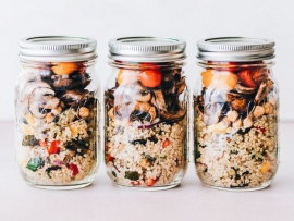 zinc mason jar ella olson via unsplash