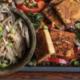 sheet pan meals sesame tofu horizontal